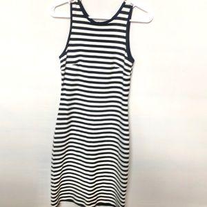 Karen Kane striped dress.